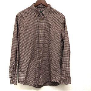 Eddie Bauer Relaxed Fit Long Sleeve Shirt - Medium